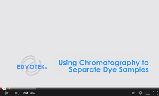 Using Chromatography to Separate Dye Samples